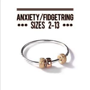 🧮 abacus anxiety ring 925 sterling silver